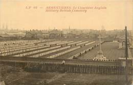 59* ARMENTIERES  Cimetiete Anglais WW1            MA87,0645 - Armentieres