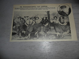 """Origineel Knipsel ( 1727 ) Uit Tijdschrift """" Ons Volk """"  1934 :  100 - Jarige  Honderdjarige  Lophem  Loppem - Oude Documenten"""