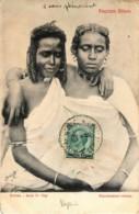 Erythrée - Abyssinie - Ragazze Bilene - Série 1a Tipi - Erythrée