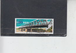 GERMANIA  DDR 1976 - Unificato  2165 - Ponti - Ponti