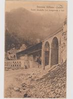 Ferrovia BELLUNO - CADORE, Ponte Viadotto Tra LONGARONE E FAE'  - F.p. - Anni '1905-1908 - Belluno