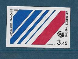 France Timbres De 1983  N°2278a  Non Dentelé Neufs ** Gomme Parfaite Cote 30€ - Francia