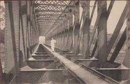 Belgisch Congo Belge Chemin De Fer Du - Le Pont Sur L' Inkissi Inkisi Brug Spoorbrug Kisantu RARE - Autres