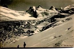 Col Du GEANT (avec Des Randonneurs) CPA NEUVE Edit Max Willmann à Chamonix N° 31 - France