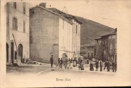 Var, Broves, Rue, Place, Animations      (bon Etat) - Autres Communes
