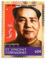 ST VINCENT 1v MNH** Mao Tse-tung Leads China's Revolution Mao Zedong - Mao Tse Toung China Communism - Mao Tse-Tung