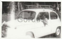 Romania - Old Time Car - Fiat - Photo 60x90mm - Automobili
