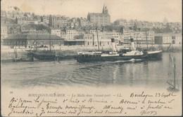 BOULOGNE-SUR-MER - La Malle Dans L'avant-port - Boulogne Sur Mer