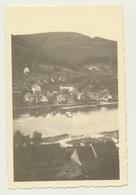 Kleines Privat Foto Neckarhausen Mit Fähre  1951 - Orte