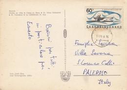 CECOSLOVACCHIA   /  ITALIA -  Card _ Cartolina Postale - Cecoslovacchia