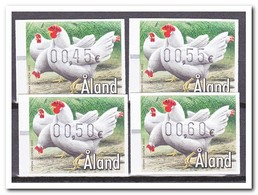 Aland 2002, Postfris MNH, Birds, Chickens - Aland