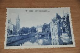 8537-   BRUGGE   BRUGES, QUAI DU ROSAIRE VERS LE DYVER - Brugge