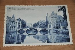 8539-   BRUGGE   BRUGES, PONT DU BEGUINAGE ET PRESBYIERE - Brugge