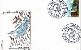 Algérie-FDC 1979  Sitta Ledanti.La Sitelle De Ledant. Oiseau - Algérie (1962-...)