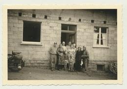 Kleines Privat Foto Neckarhausen Goldiges Quartier Unbekannt Gasthof Motorrad  1951 - Orte