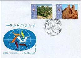 FDC Algérie,Algéria  1980  El Oued ; Tassili - Algérie (1962-...)