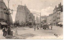63 CLERMONT FERRAND RUE ANIMATION TRAMWAY  PUY DE DOME   AUVERGNE - Clermont Ferrand