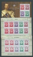 Australia 2014 KGV Stamp Anniversary Miniature Sheet + Both Offset & Letterpress Sheetlets Of 10 MNH - 2010-... Elizabeth II