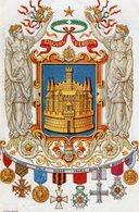 CPA 2545 - MILITARIA - Carte Militaire Patriotique - Gloire à VERDUN & Pays Alliés - Illustrateur Juan RUIZ - Patriotiques