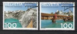 Schweiz / Helvetia   2018 , EUROPA CEPT Brücken - Gestempelt / Used / (o) - 2018