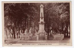 Neuvy-le-Roi (Indre-et-Loire)  Monument Aux Morts - Neuvy-le-Roi