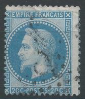 Lot N°47166   Variété/n°29B, Oblit, Piquage - 1863-1870 Napoleon III With Laurels