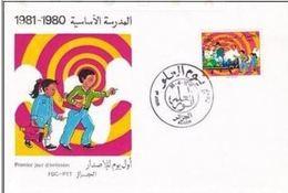 FDC ALGERIE 1981 Obl. Alger - Journée De La Science  - Algeria (YT 734) - Algérie (1962-...)