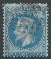 Lot N°47167   N°29B, Oblit GC 2185 Manduel, Gard (29), Ind 8 - 1863-1870 Napoleon III With Laurels