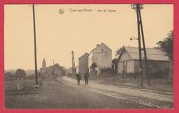 Cour-sur-Heure - Rue De L'Eglise ... Oldtimer ( Voir Verso ) - Ham-sur-Heure-Nalinnes