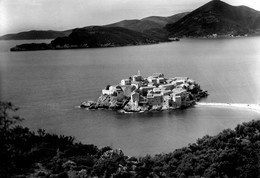 CROAZIA-SVETI STEFAN PANORAMA - Croatie