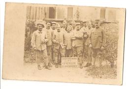 Carte Photo. Groupe Automobile N° 7, CH CENCELME, Approvisionnement (A2p53) - Guerre 1914-18