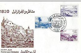 FDC- VUES D'ALGERIE AVANT 1830-1984 - Algérie (1962-...)