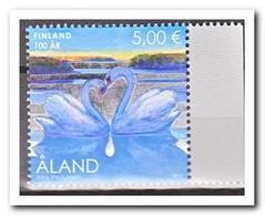 Aland 2017, Postfris MNH, Birds, Swans - Aland