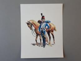 Affiche : Hussard Premier Empire & - Autres