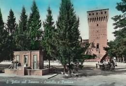 SAN FELICE SUL PANARO  /  Castello E Fontana _  Viaggiata - Modena
