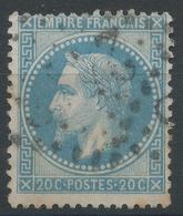Lot N°47173 N°29B, Oblit GC 2418 La Ferte-Chevresis, Aisne (2), Ind 15 Ou GC 2418 Mont-St-Michel, Manche (48), Ind 35 ?? - 1863-1870 Napoleon III With Laurels