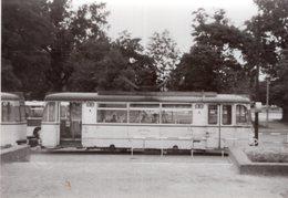 Original Photo Straßenbahn Ost Berlin DDR - Trains