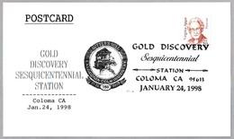 CALIFORNIA GOLD DISCOVERY - DESCUBRIMIENTO DE ORO. Coloma CA 1998 - Minerales