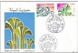 FDC ALGERIE - 1985 - Protection De L'Environnement - Algérie (1962-...)