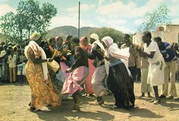 DJIBOUTI - Danse Locale - Ed. André Bourlon - Non Voyagée - Gibuti