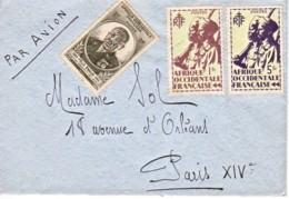 AOF : Lettre Pour Paris - A.O.F. (1934-1959)