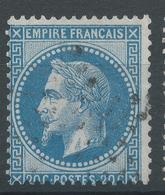 Lot N°47176 Variété/n°29A, Oblit étoile De PARIS, Filet NORD - 1863-1870 Napoleon III With Laurels