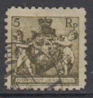 Liechtenstein 1921 Definitives 5Rp Perf. 9.5 Used (42239) - Gebraucht