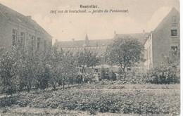 CPA - Belgique - Santvliet - Jardin Du Pensionnat - Belgique