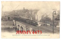 CPA - Le Rapide Lille Au Passage à Niveau De La Basse Ville - DUNKERQUE 59 Nord - Phot-Edit. Faleiny - Scans Recto-Verso - Trains