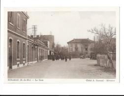 Miramas - La Gare - édit. A. Parraud  + Verso - Autres Communes