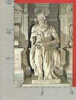 CARTOLINA NV ITALIA - ROMA - S. PIETRO IN VINCOLI - Mosè Di Michelangelo - 10 X 15 - Sculture