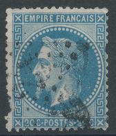 Lot N°47181   N°29B, Oblit étoile Chiffrée 24 De PARIS (R. De Cléry) - 1863-1870 Napoleon III With Laurels