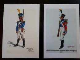 Affiche : Légion Hannovrienne 1810 Et Garde De Sécurité De Naples 1819 & - Other