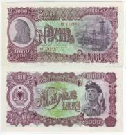 Albania 1000 Leke Banknote 1957 - Albania